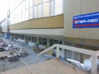 Remont przychodni studenckiej w Gdańsku na terenie AWFIS. Wcześniej była tu stołówka dla Studentów oraz Pracowników AWFIS