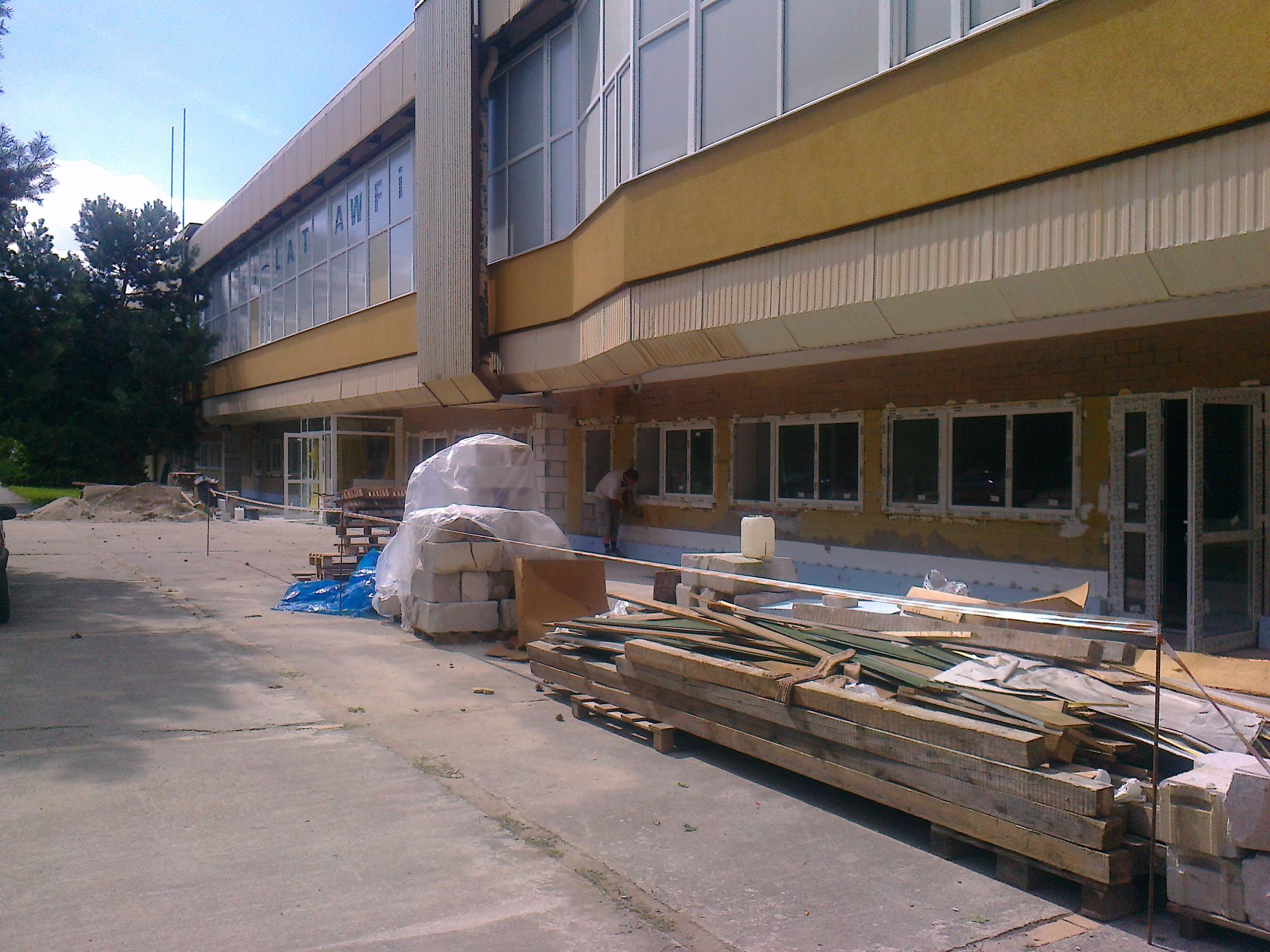 Przychodnia studencka AWFIS w Gdańsku przed otwarciem